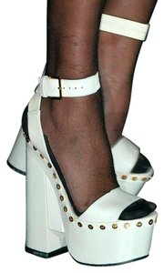 Tom Ford White Leather Sandals