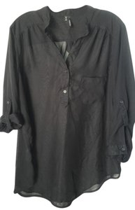 Maurices Sheer Xl Top Black