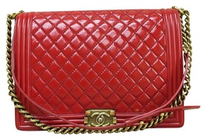 Chanel Glazed Maxi Shoulder Bag