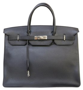 Herms Like New Toge 40 Tote in black