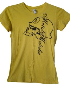 Metal Mulisha Small T Shirt Yellow