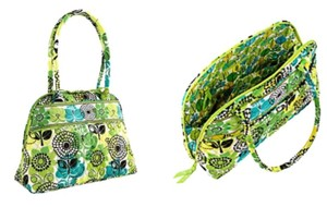 Vera Bradley Bowler Up Handbag Satchel Shoulder Bag