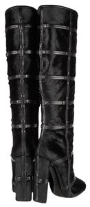 Tom Ford Black Calf Hair Boots
