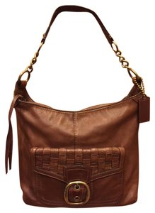Coach Leather Leather Hobo Bag