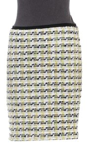 Peter Som Mini Skirt Yellow/White/Multicolor