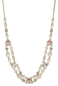 Givenchy Reduced, swarovski Element Crystal Double Row Crystal Necklace