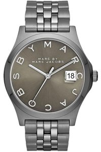 Marc by Marc Jacobs Marc Jacobs Women's The Slim Silver Tone Watch MBM3351