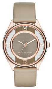 Marc by Marc Jacobs Marc Jacobs Thether Three Hand Leather Watch - Grey MJ1375