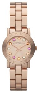 Marc by Marc Jacobs Marc Jacobs Rose Gold-Tone Multi Glitz Watch MBM3219