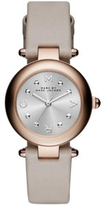 Marc by Marc Jacobs Marc Jacobs Dotty Three Hand Leather Watch - Grey MJ1413