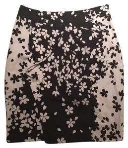 Magaschoni Skirt Black and cream