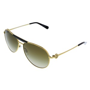 Michael Kors Michael Kors Gold/Black Aviator Sunglasses