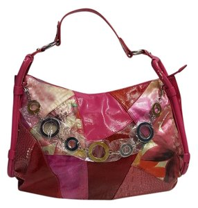 Sharif Patchwork Floral Hobo Bag