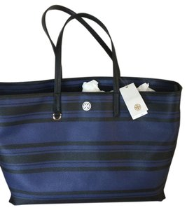Tory Burch Black/Tory Navy Diaper Bag
