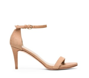 Stuart Weitzman Sandal Nude Leather Beige Sandals