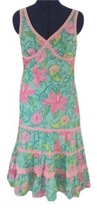 Lilly Pulitzer short dress Pink, teal and green on Tradesy