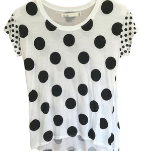 Madewell T Shirt Black and white