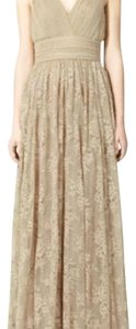 Tan Maxi Dress by Zara