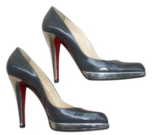 Christian Louboutin Classic Pigalle Pump Grey Pumps