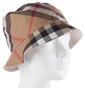 Burberry Beige, brown Burberry House Check reversible bucket hat