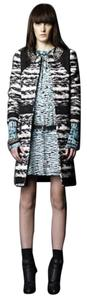 Proenza Schouler Tweed Boucle Fall Winter Pea Coat