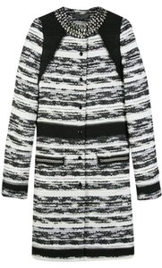 Proenza Schouler Tweed Boucle Fall Winter Holiday Pea Coat