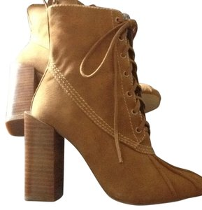 Jeffrey Campbell Camel Suede Boots
