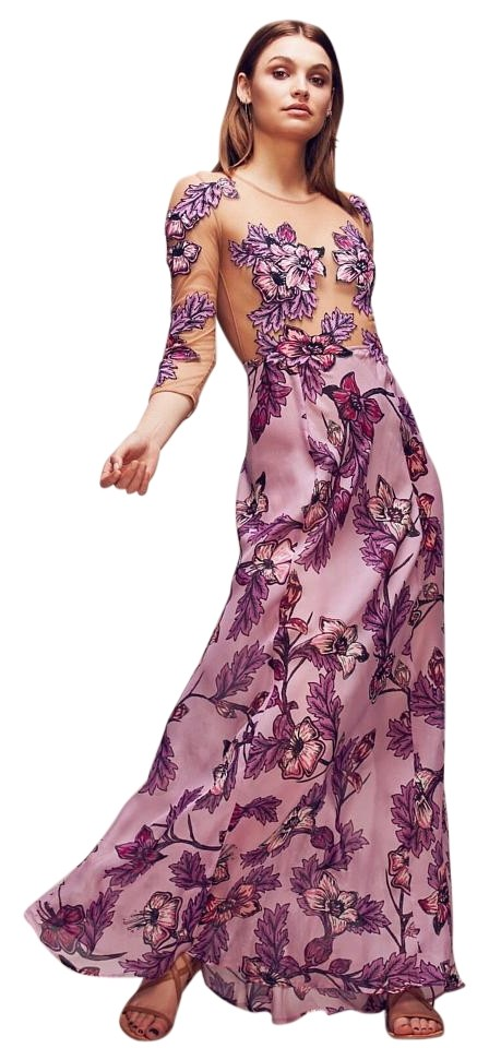 97f75cf613d For Love   Lemons Vintage Purple Sierra Long Casual Maxi Dress Size ...