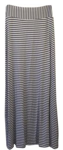 Odille Maxi Skirt Blue and white