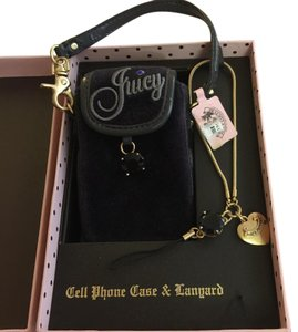 Juicy Couture Cellphone case & lanyard