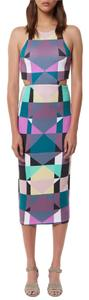 Mara Hoffman Night Out Date Night Pencil Midi Cut-out Dress