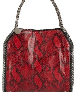 Stella McCartney Tote in RED/BLACK