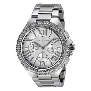 Michael Kors MK5634W Women's Chronograph Camille Stainless Steel Bracelet Watch
