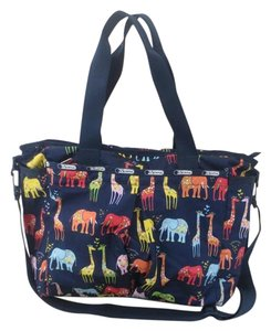 LeSportsac Tote in Navy, multicolor