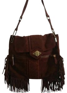 Rachel Zoe Brown Messenger Bag