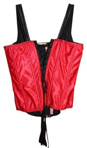 Empire Intimates Corset Top Red
