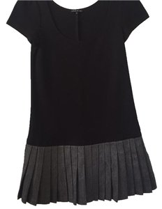 Theory short dress Black and gray on Tradesy