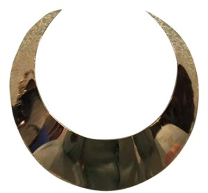 DANNIJO Wide Gold Collar Bib Necklace DANNIJO For Vena Cava Naomi Necklace