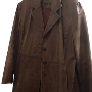 Winlet Brown Leather Jacket