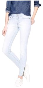 J.Crew Railroad Strip Skinny Jeans-Light Wash