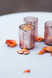 40 Blush Votives