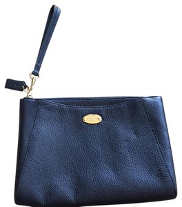 Coach Wristlet in Navy