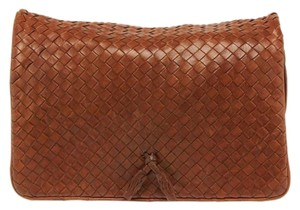 Bottega Veneta Brown Clutch