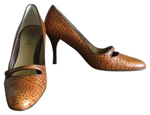 Franco Sarto Caramel and brown Pumps