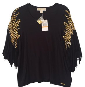 MICHAEL Michael Kors T Shirt Black and gold