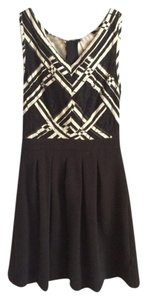5669a891c1f3 Anthropologie short dress Black and white on Tradesy