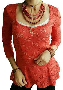 Free People Top Red Pepper