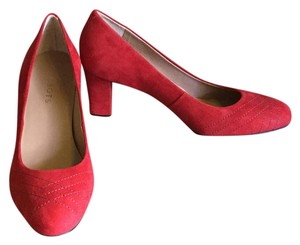 Talbots Red Pumps