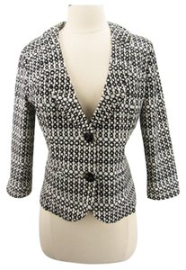 CAbi Black and White Jacket