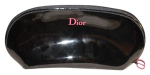 Dior Dior Black Makeup Cosmetic Case with Pink CD Hang Tag